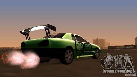 Elegy v0.2 para GTA San Andreas vista direita