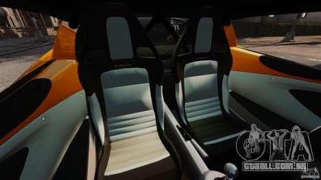 Lotus Exige 240 CUP 2006 para GTA 4 vista interior