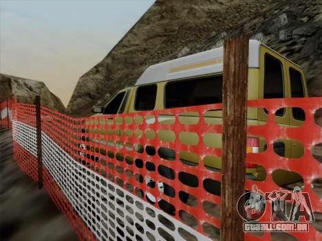 UAZ 2760 para GTA San Andreas vista interior