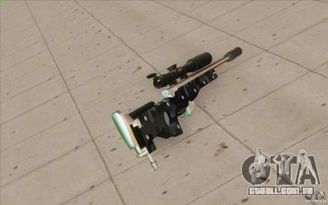 Low Chrome Weapon Pack para GTA San Andreas quinto tela