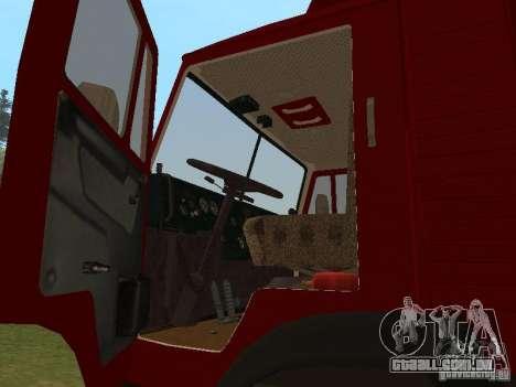 KAMAZ 5325 para GTA San Andreas vista direita