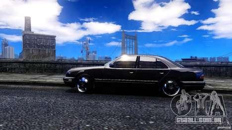 Mercedes-Benz E55 AMG para GTA 4 esquerda vista
