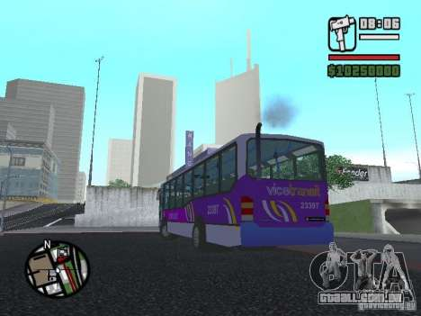 Marcopolo Viale III para GTA San Andreas esquerda vista