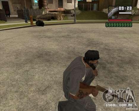 Carabina de caça para GTA San Andreas terceira tela