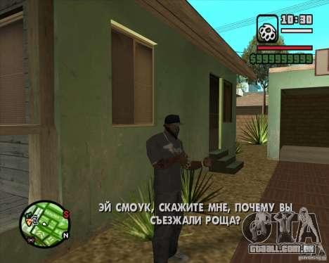 Greetings 2U: GS para GTA San Andreas