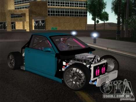 BMW E46 Drift II para GTA San Andreas vista inferior