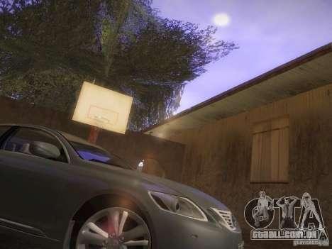 Lexus GS450H para GTA San Andreas esquerda vista