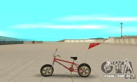 BMX Long 2 New Wheel para GTA San Andreas esquerda vista