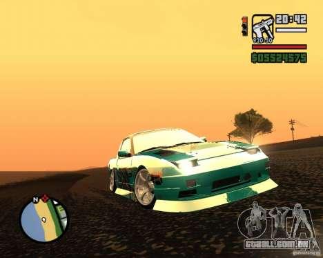 Nissan RPS13 Pick-Up Moscow Drift para GTA San Andreas