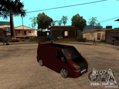 Ford Transit Tuning para GTA San Andreas vista direita