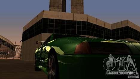 Elegy v0.2 para GTA San Andreas vista interior