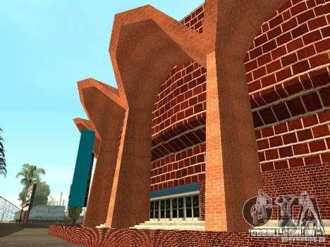 Novas texturas de Los Santos estádio Fórum para GTA San Andreas