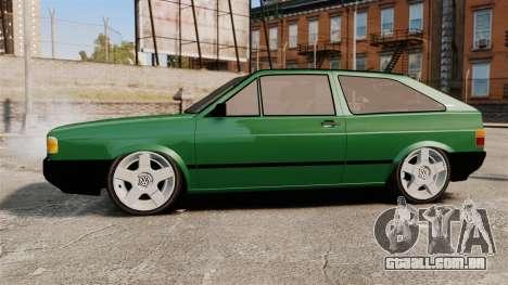 Volkswagen Gol GL 1992 Edit para GTA 4 esquerda vista