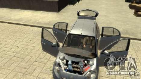 Nissan Micra para GTA 4 vista inferior