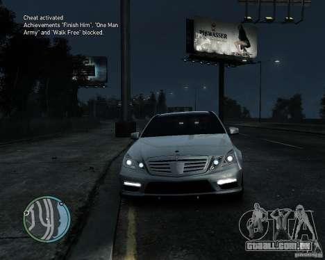 Mercedes Benz B63 S Brabus v1.0 para GTA 4 esquerda vista