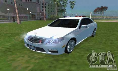 Mercedes-Benz E63 DPS para GTA San Andreas