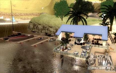 Clube de praia para GTA San Andreas terceira tela
