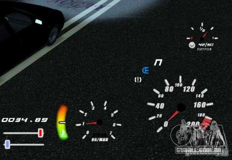 Um velocímetro original para GTA San Andreas