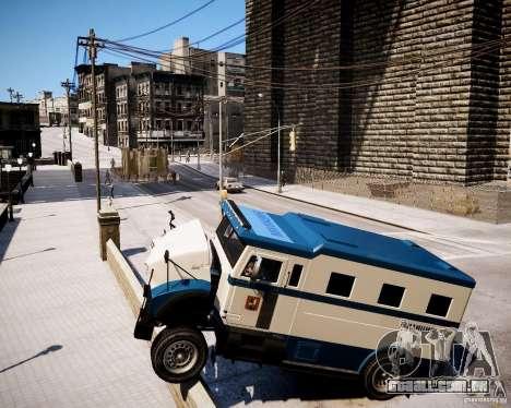 Russian Police Stockade para GTA 4 vista direita
