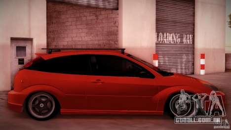 Ford Focus SVT Clean para GTA San Andreas vista traseira