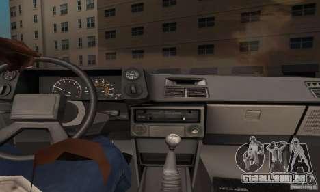 Toyota Corolla AE86 para GTA San Andreas vista interior