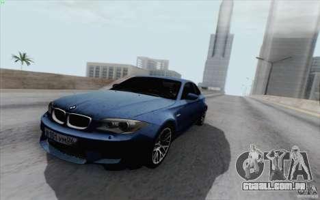 BMW 1M 2011 V3 para GTA San Andreas vista direita