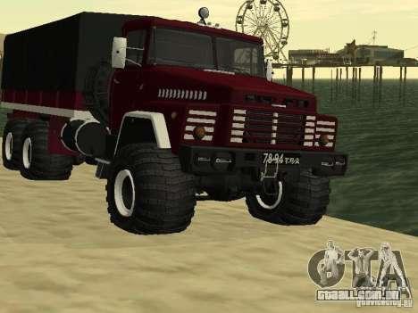 KrAZ 260 para GTA San Andreas
