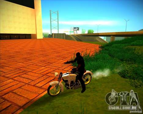 1923 ACE 1200cc para GTA San Andreas vista superior