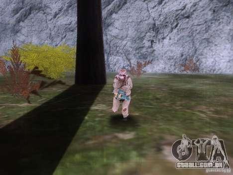Piggsy on Mount Chilliad para GTA San Andreas por diante tela