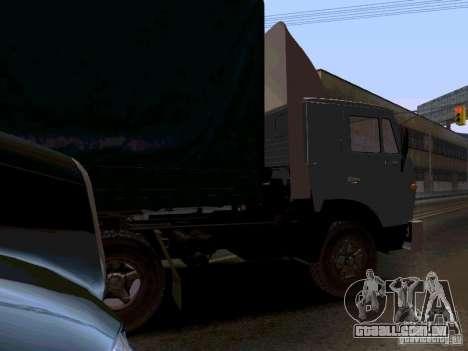 KAMAZ 55111 para GTA San Andreas vista direita