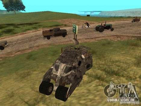 Batman Car para GTA San Andreas