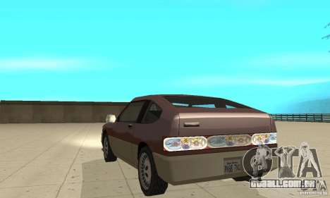 New lights and crash para GTA San Andreas terceira tela