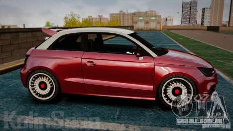Audi A1 Quattro para GTA 4 esquerda vista
