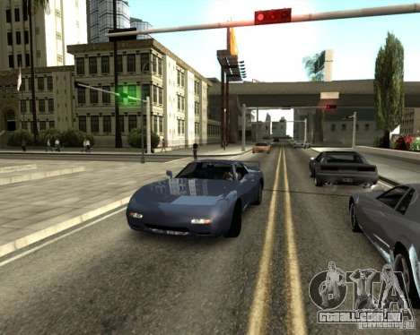 ENBSeries by Sashka911 v3 para GTA San Andreas por diante tela