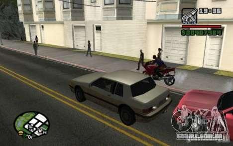 Luzes traseiras universais para GTA San Andreas terceira tela