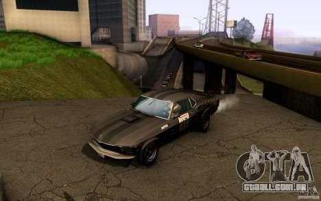 Ford Mustang Boss 302 para as rodas de GTA San Andreas