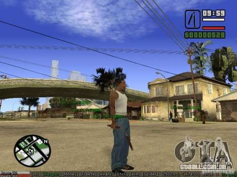 Armas de Pak para GTA San Andreas quinto tela