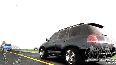 Toyota Land Cruiser 200 RESTALE para GTA 4 vista direita