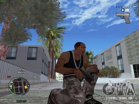 Pacote de GTA IV para GTA San Andreas segunda tela