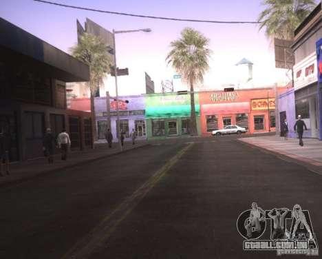 ENBSeries para Ultra Pack Vegetetions para GTA San Andreas segunda tela