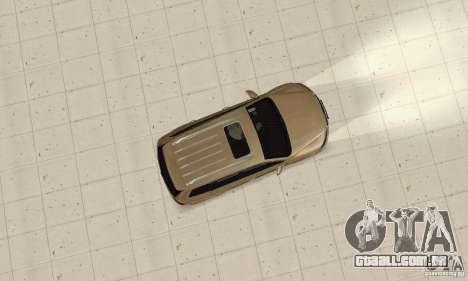 Volkswagen Touareg 2008 para GTA San Andreas vista direita