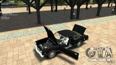 Plymouth Volare Coupe 1977 para GTA 4