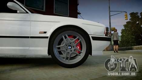 BMW M5 (E34) 1995 v1.0 para GTA 4 vista direita