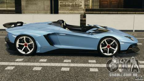 Lamborghini Aventador J 2012 para GTA 4 esquerda vista