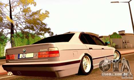 BMW E34 525i para vista lateral GTA San Andreas