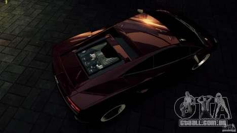Lamborghini Gallardo Hamann para GTA 4 vista inferior