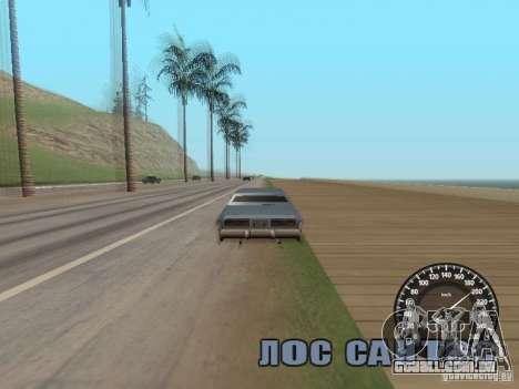 Velocímetro Audi para GTA San Andreas terceira tela