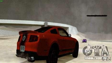 Direct R v1.0 para GTA San Andreas por diante tela