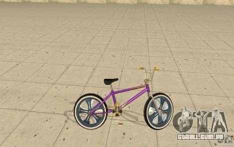 Spin Wheel BMX v1 para GTA San Andreas esquerda vista