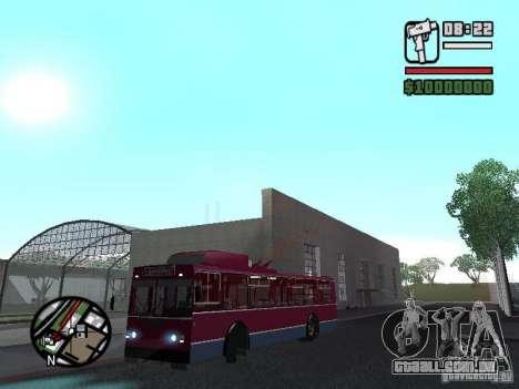 ZIU 682GM 1 para GTA San Andreas vista traseira